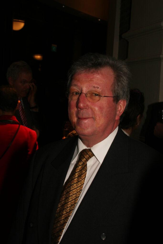 John Overbeke bij 15-jarig jubileum van het NTvG.